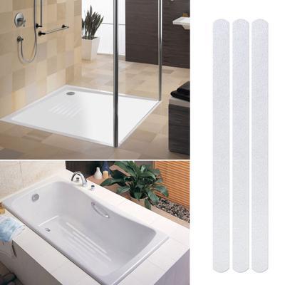 5Pcs Anti Slip Bath Grip Stickers Non Slip Shower Strips Flooring Safety Tape c1