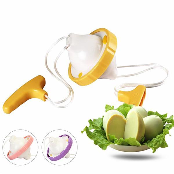 Hot Manual Golden Egg Maker Shaker Egg Mixer Creative Kitchen Cooking Gadget US