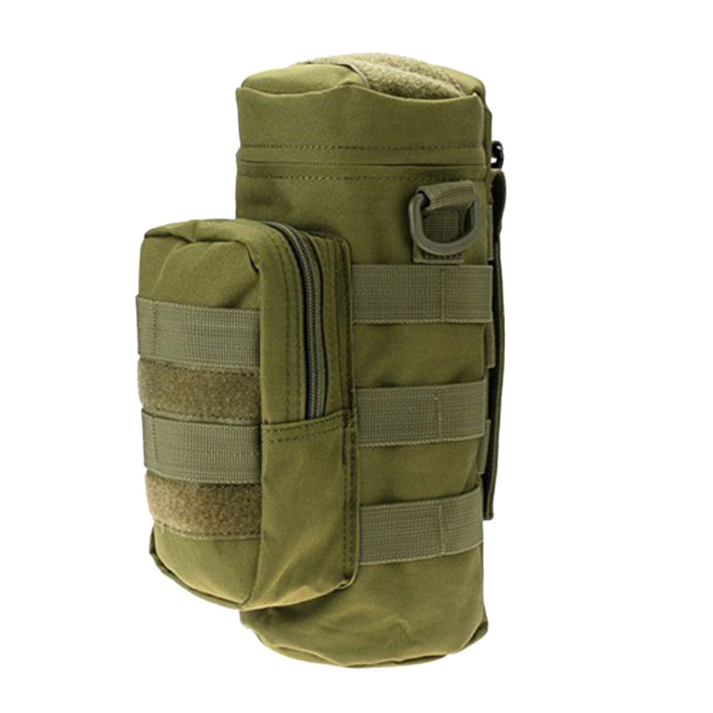Military Can Bag Protector Molle EDC Pouch Outdoor Sports Tactical Kettle Bag Z