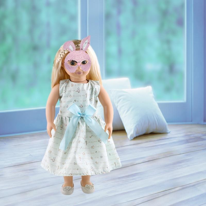 Heißer Verkauf der neue 18-Zoll-American Girl Puppe Kleidung Kleid ...