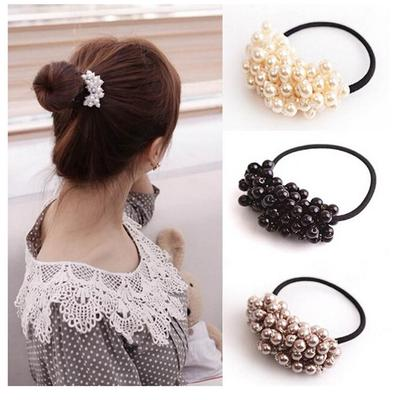 Buy Pearl Ponytail Holder From 3 Usd Free Shipping Affordable Prices And Real Reviews On Joom