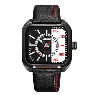 New Men's Quartz Watch Fashion Square Simple Watch
