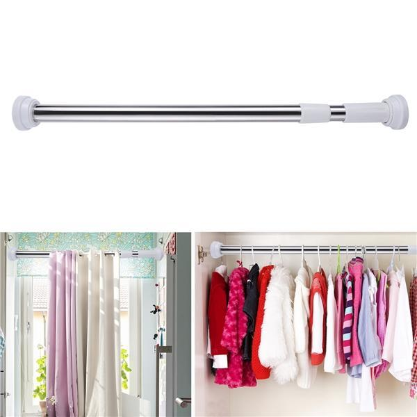 Stainless Steel Bathroom Shower, Can A Tension Rod Hold Curtain