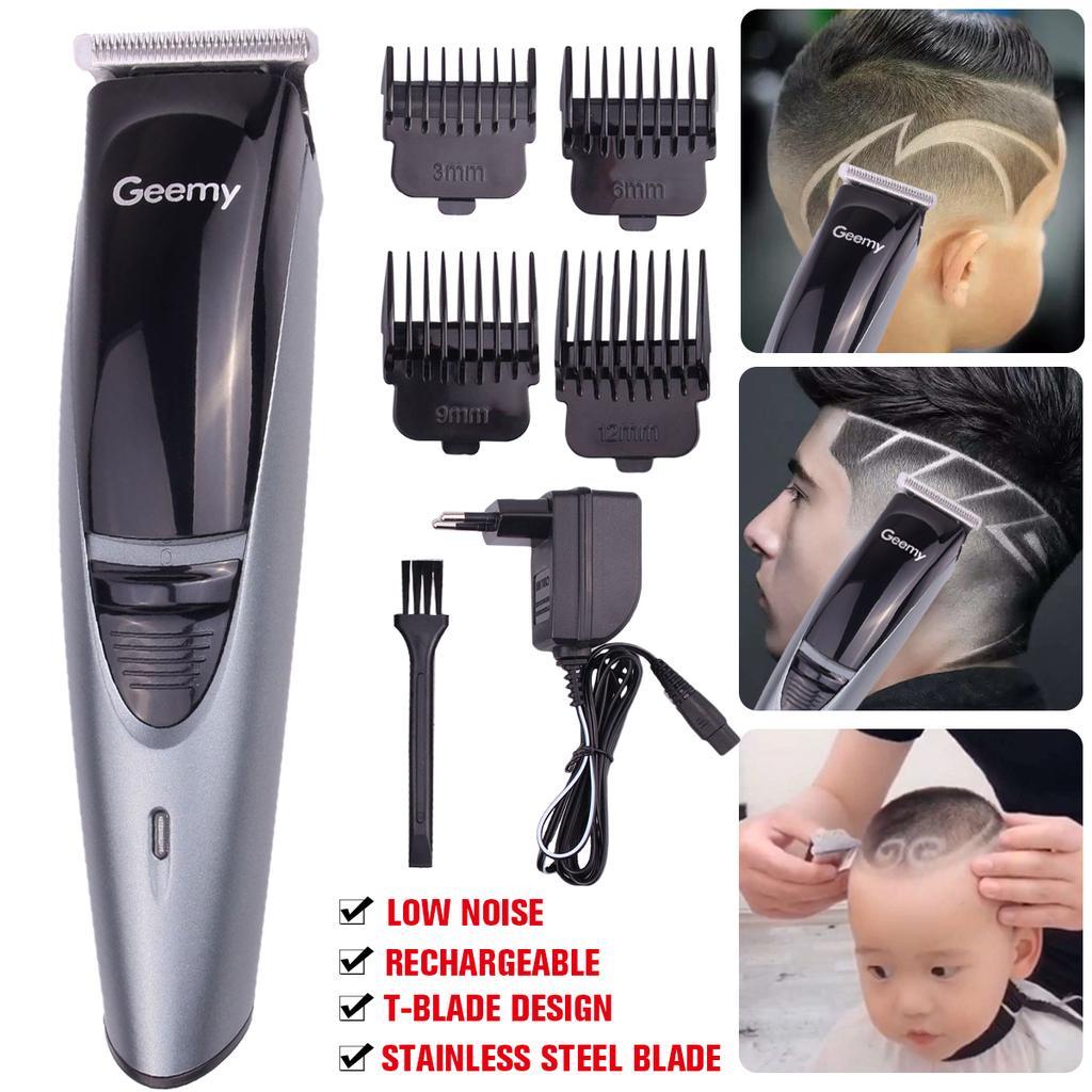 Professionelle elektrische HaarSchneider wiederaufladbare Rasierer Low  Noise Professional Haartrimmer Herren Haarschneidemaschine Bart Trimer
