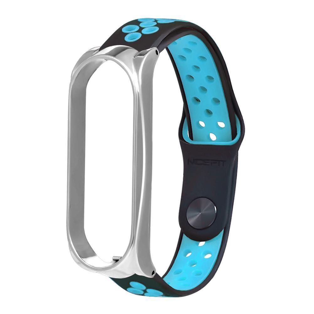 Silicone Fashion Ventilate Sport Strap Wristband Replacemen For Xiaomi Mi Band 2