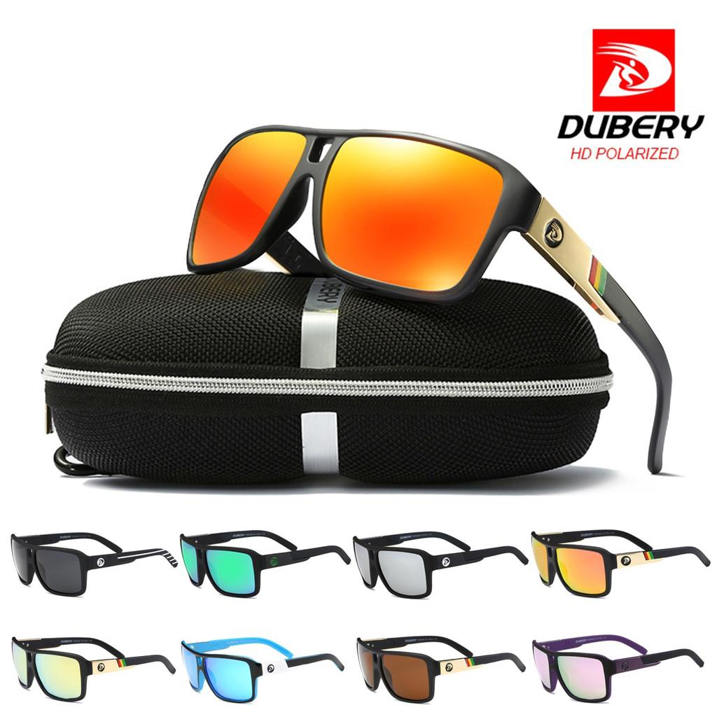 Men Polarized Square Sunglasses Outdoor Sport Riding Cycling Helm Glasses New