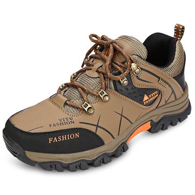 Hiking Shoes Boots Men Winter Lace up