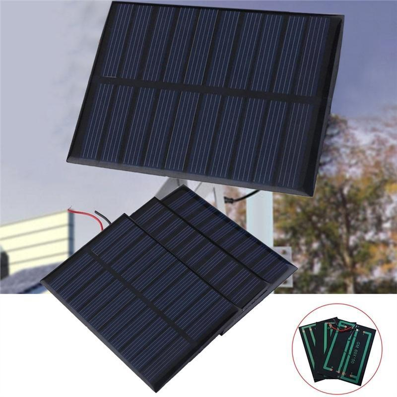 DC Battery 1.5W Cellphone Small Cell TL Mini Solar Panels Charger for 12V