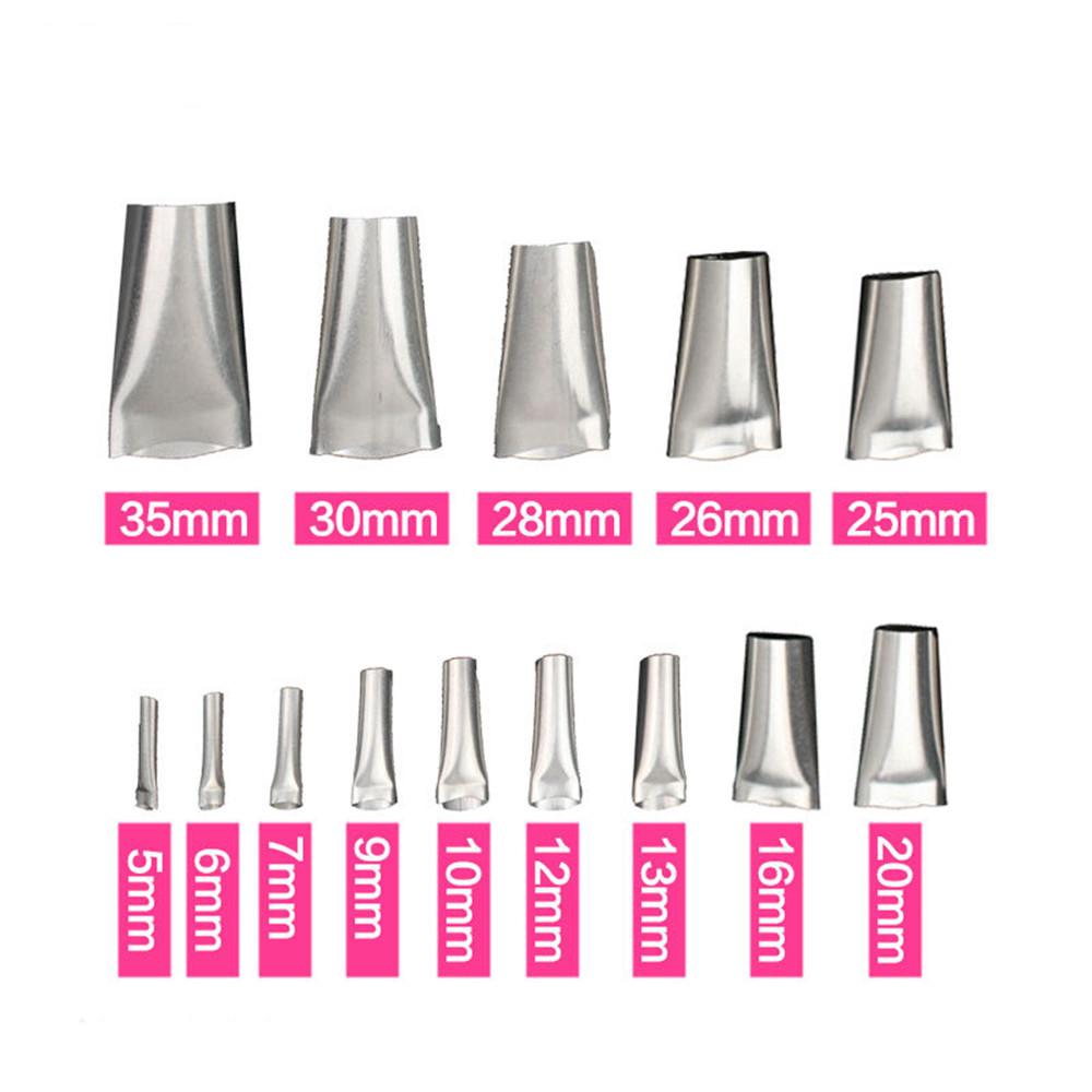 14pcs Finisher Caulking Stainless Steel Applicator Tool Nozzle Kitchen 5-35mm