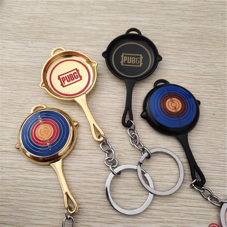 Брелок для ключей из нержавеющей стали с логотипом игры PUBG фото