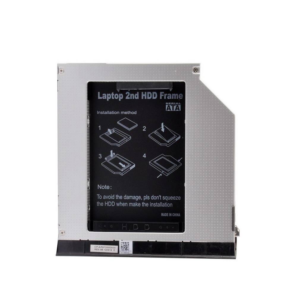 Portátil segundo marco disco duro duro Drive Caddy con eyector ...