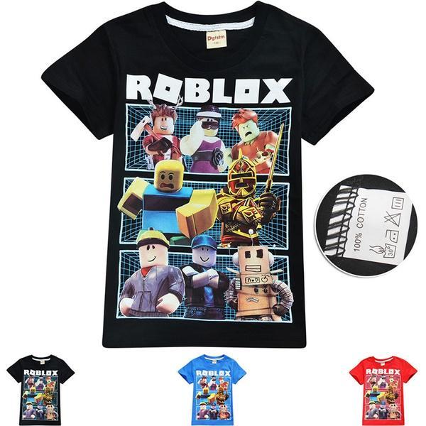 Summer Children Clothing Boy And Girls T Shirt Cartoon Fireman