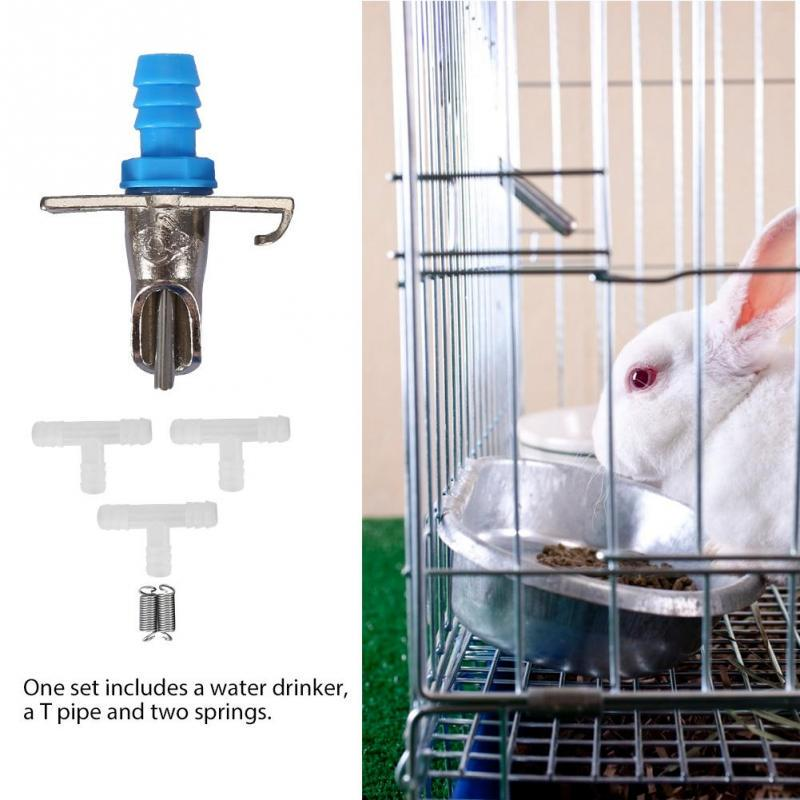 10 pieces Rabbit Nipple Waterer Pig Bunny Dinker automated watering system