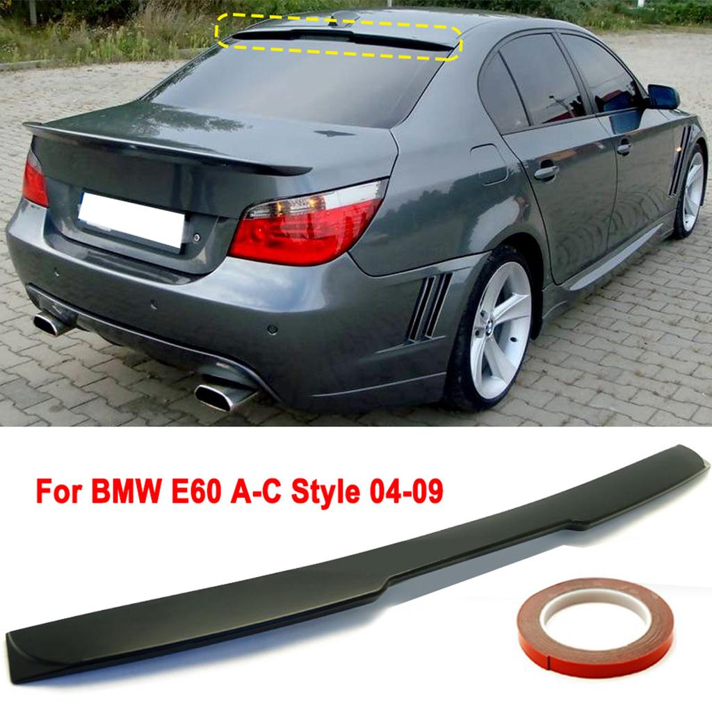 Carbon Fiber Rear Roof Spoiler AC Style Wing Top Lip For BMW E90 Sedan 4D 06-11