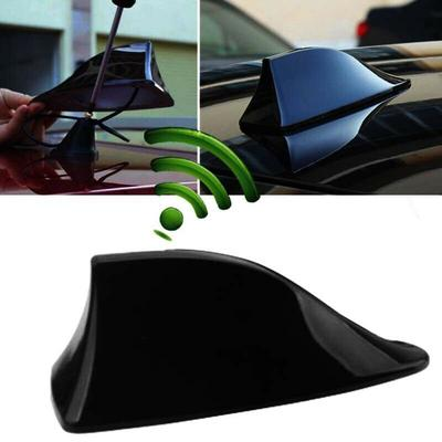 New Universal Auto Car Roof Radio AM//FM Signal Shark Fin Style Aerial Antenna