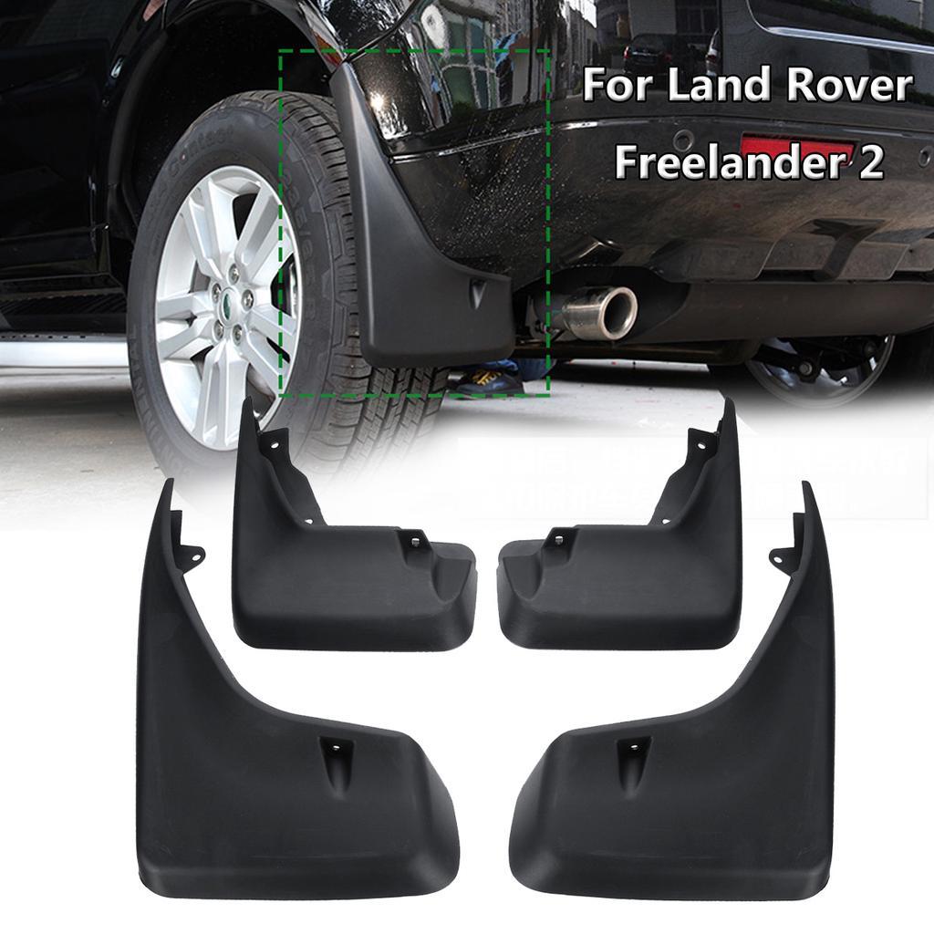 For Land Rover Freelander 2 2009-2015 Front Rear Splash Guard Set Screws DDDXF 4Pcs Mud Flaps Rubber Fenders Black Improved Fender Styling /& Body Fittings Mud Flaps Splash Guards