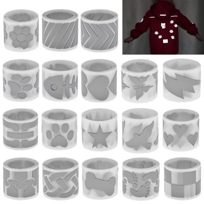 3X100CM Reflective Stickers For Clothing Hot Stamping Foil Heat Transfer Vinyl Film DIY PET Tape Sticker Silver Iron On Fabric