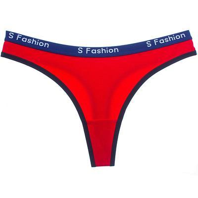 25b29b644a46a Impresionantes mujeres letra impresión tanga calzoncillos bragas tangas Sexy  ropa interior ropa interior