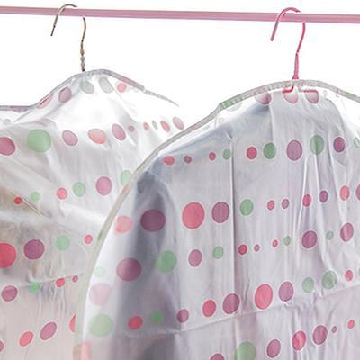 Clothes Hanging Bag Dust Cover Garment Suit Dustproof Wardrobe Storage Organizer