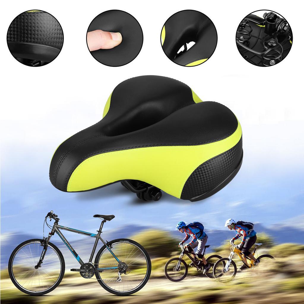 Universal Bike Saddles Hollow Thicken Soft MTB Mountain Bicycle Seat