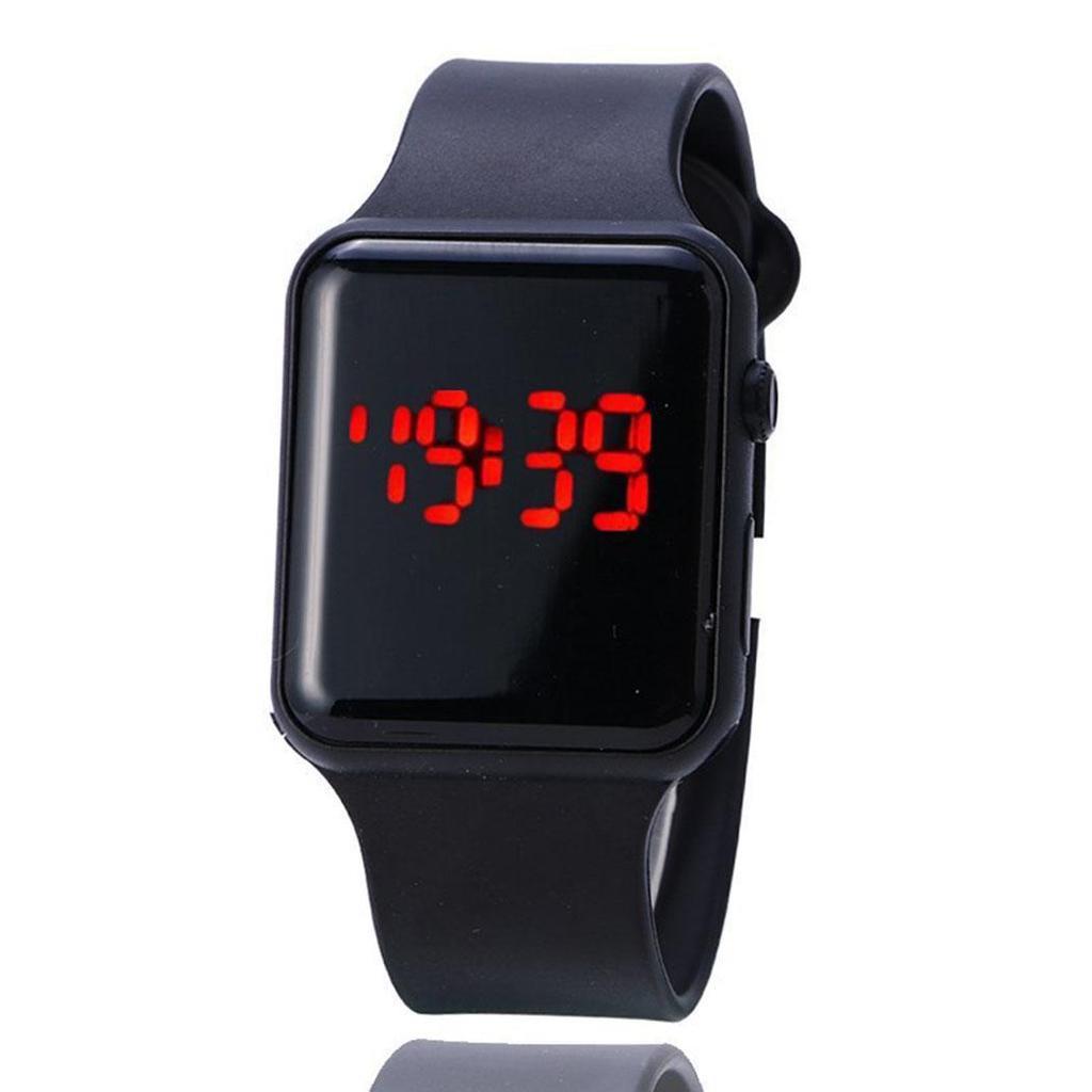 4901ac575aff Banda colorida recambio Correa electrónico LED relojes de los ...
