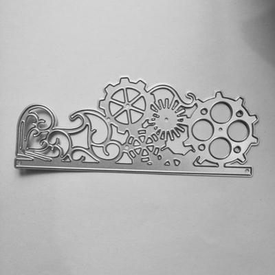 Gear Wheel Metal Cutting Dies Stencil Scrapbooking DIY Album Paper Card Craft