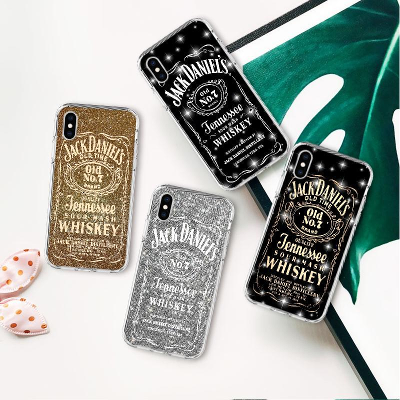 Whisky JACK DANIEL'S Silicone Back Cover Case for Apple iPhone 6 8 XS Max Plus X 7 5 XR 5s-buy at a low prices on Joom e-commerce platform