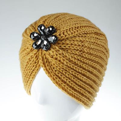 Autumn Hat Cowl-Neck Pullovers Pile Cap Thin Nightcap Beanie Cap Confined Cap