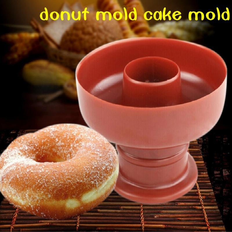 Пекарня, украшать торт инструмент дома пищевого пластика торт чайник плесень десерты резец DIY пончик плесень фото