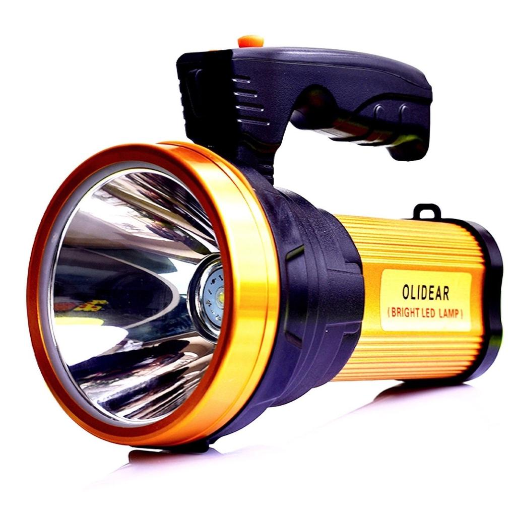 Super Bright LED Searchlight Rechargeable Handheld Spotlight Flashlight Torch