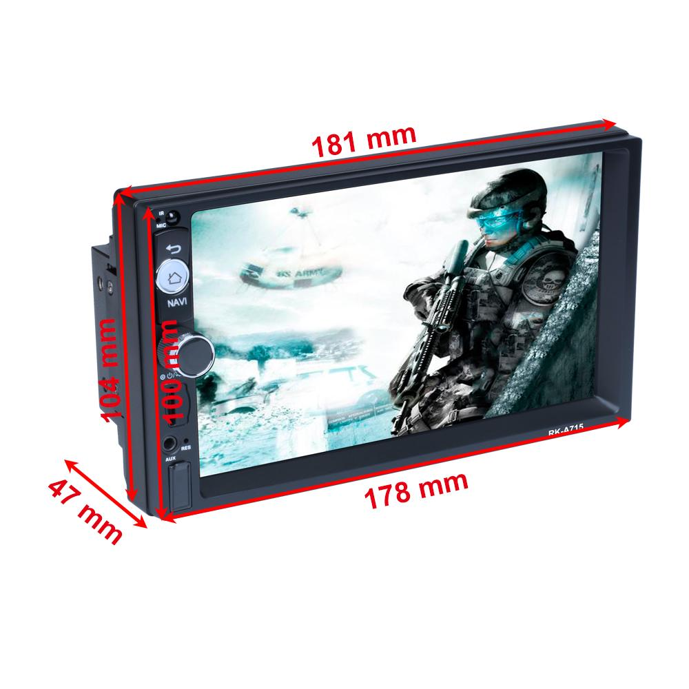 Podofo 2 Din Android 8 1 Universal 7 2din Car Radio Gps Multimedia Player Mp5 Autoradio For Nissan Toyota Kia Honda Vw Hyundai Buy At A Low Prices On Joom E Commerce Platform