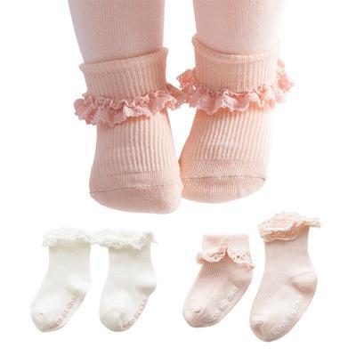 Bébé Garçon Fille Coton Chaussettes nouveau-né Infant Toddler Kids anti-dérapant Soft Sock G