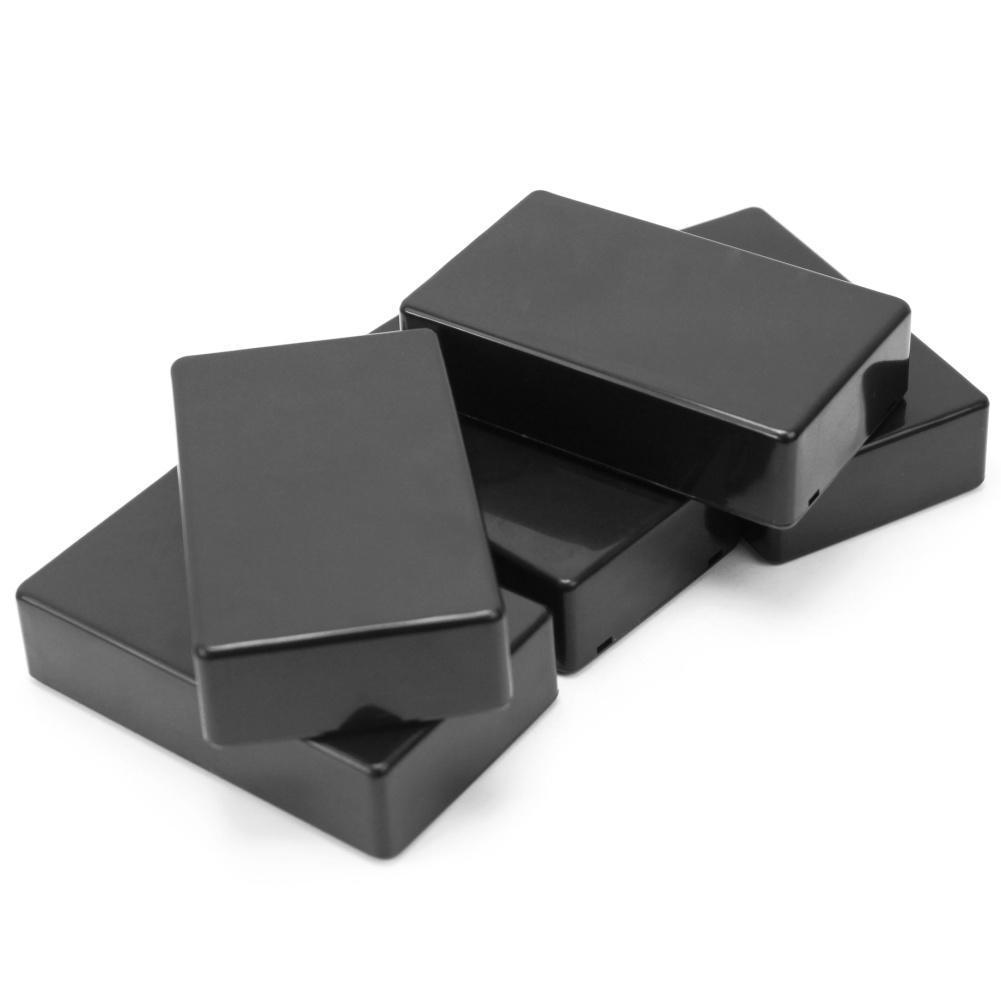 Black Plastic Electronic Box Instrument Case 100x60x25mm