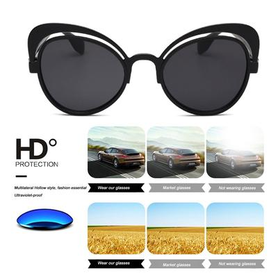 2abef2d2ca Gafas de sol vintage 15971 resina lente gran marco Anti gafas ULTRAVIOLETA