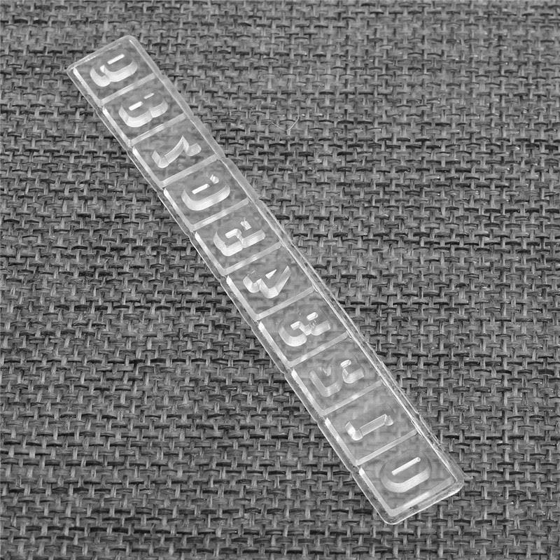 Alfabeto A-Z Letras Metal Corte Muere Plantillas DIY Scrapbooking Realce Arte BC
