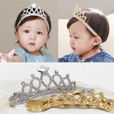 Sweet Baby Toddler Heart Rhinestone Elastic Hairband Headband Hair Accessories