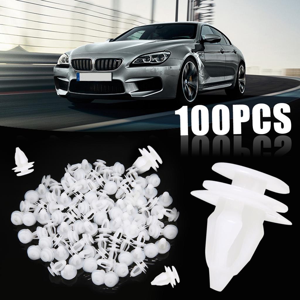 Maijiabao 100 x пластиковый автомобиль двери группа фиксатор заклепки обрезки клипа крепежа 8,2 мм отверстие – купить по низким ценам в интернет-магазине Joom