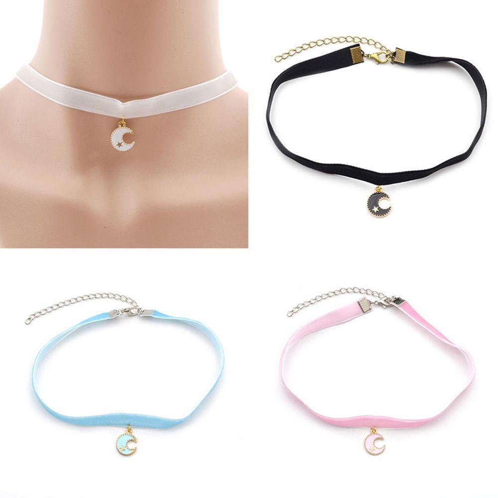 Anime Sailor Moon Pendant Necklace Charm Alloy Chain Women Girl Jewelry Cosplay