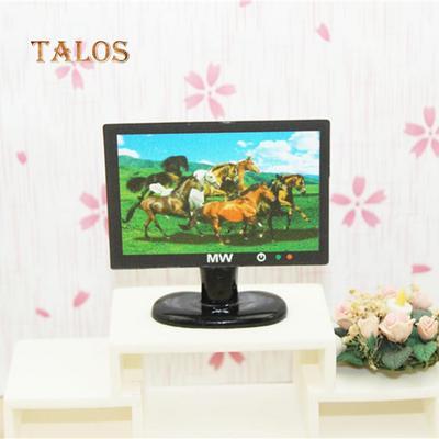 1:12 Miniatura green plant dollhouse decoration furniture DIY accessoriesF xc