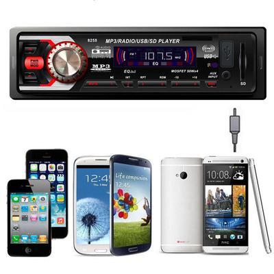 Автомагнитола PNR MP3-8258 Автомагнитола (1 DIN, USB, SD, 50W*4, AUX, цветной дисплей, bluetooth)