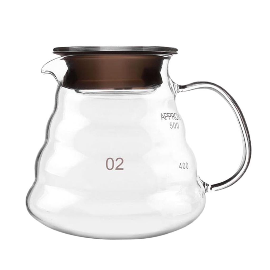 400ml Bamboo And Wooden Cover Press Pot Pot Pot Punch Household Filter Press Brewing Coffee Appliance Glass
