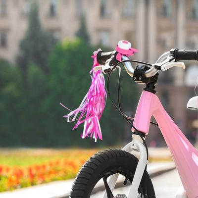 Bicycle Cycle Bike Kids Children Horn Bell Handlebar Streamers Tassels