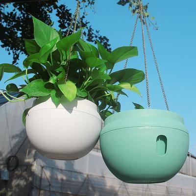 Plastikowe Wiszące Doniczki Kwiatowe Rośliny Ogrodowe Wiszące Ogrodowe Domowe Na Zewnątrz