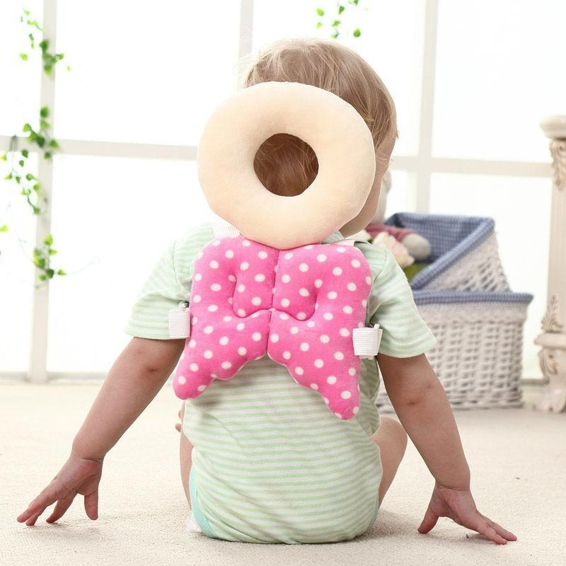 Hearty Head Pillow Baby Learn Walking Anti-fall Headrest Cushionbaby Head Protection Pillow Toddler Back Care Protective Cushion Soft Baby Bedding