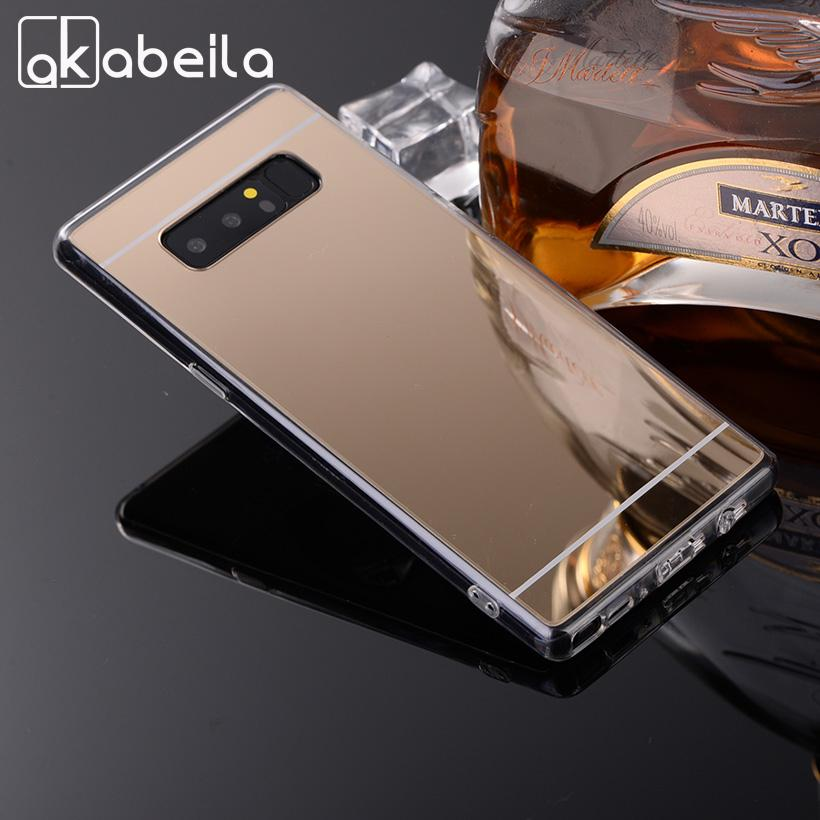 AKABEILA Case For Samsung J2 Prime A5 G530 Galaxy J7 J5 Grand Prime Note Case Soft Mirror Cover-buy at a low prices on Joom e-commerce platform