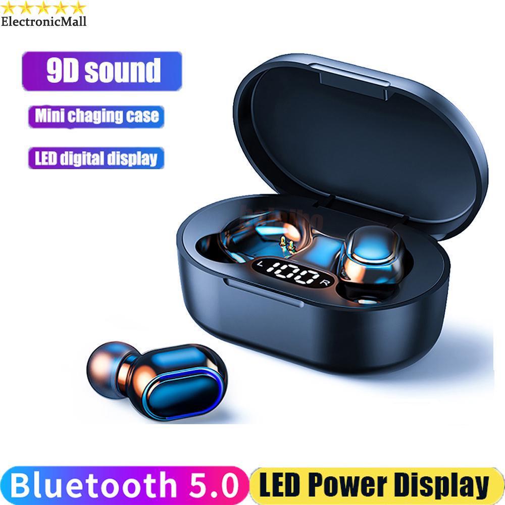 Правда TWS Стерео Earbuds Беспроводные наушники Bluetooth Earphone водонепроницаемый беспроводной наушники наушники фото
