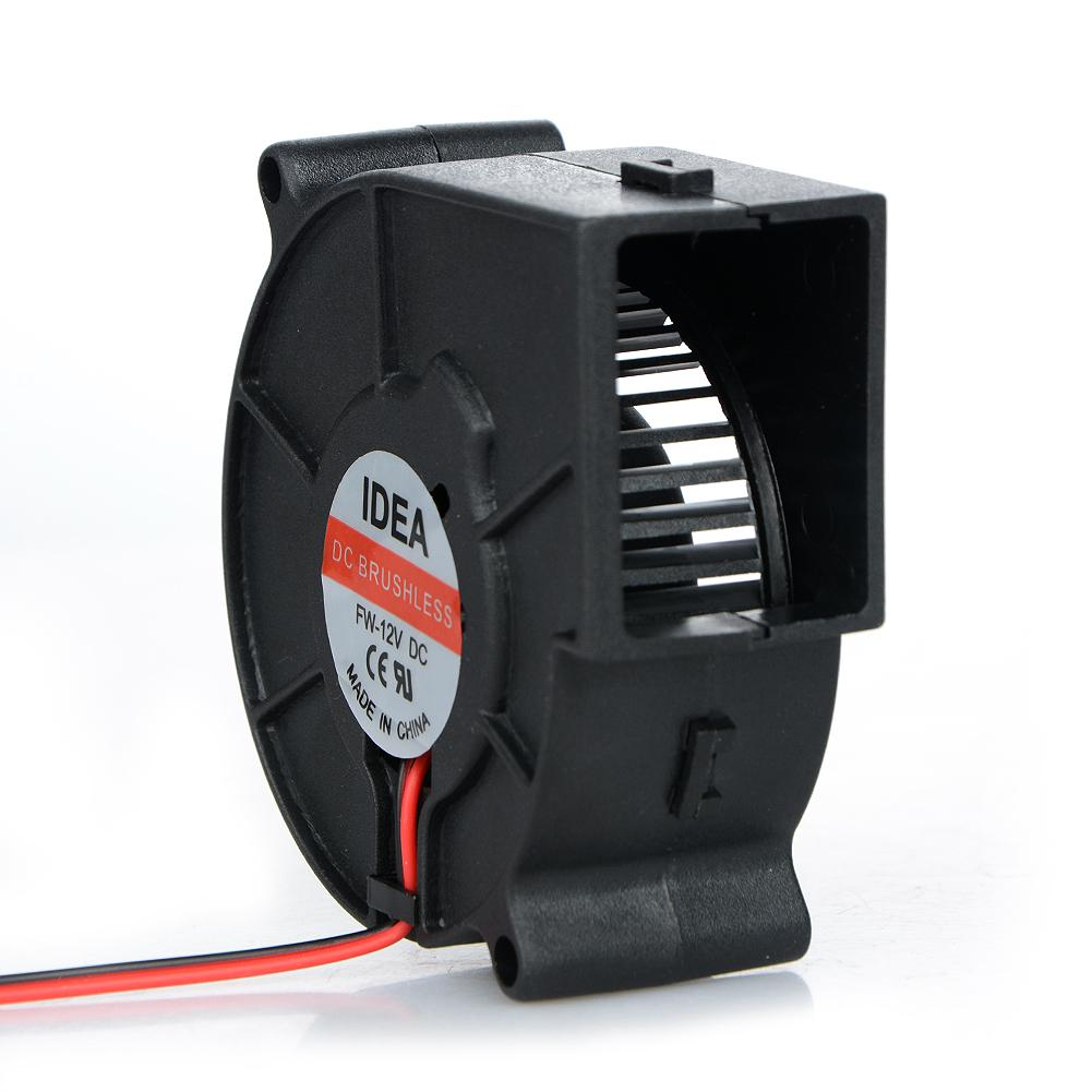Blower Oily Cooling Fan 12V 0.2A 2-Wire Brushless Low-Noise Repair Replacement