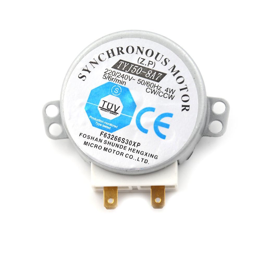 Four /à micro-ondes Turntable Moteur synchrone 4/W AC 220 240/V TR//min CW//CCW