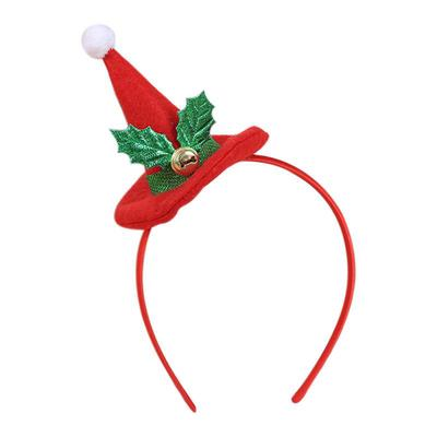Hot Christmas Headband Baby Girls Party Decor Double Hair Band Hoop Accessory