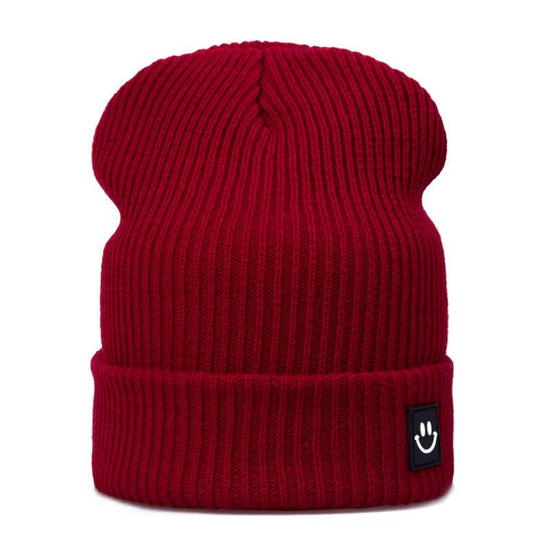 771c2ee9d Knitted hat evrfelan fashion women winter hats cotton cartoon skuilles  beanies boys girls cap high quality